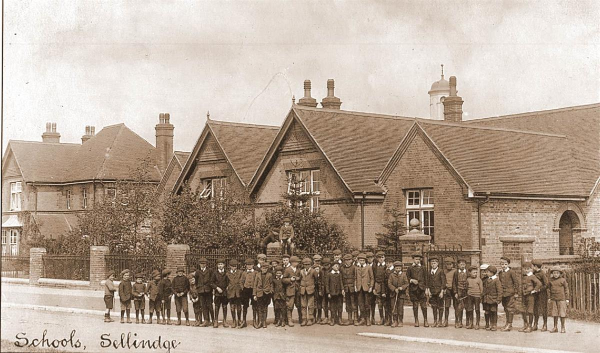 sellindge school in the early 1920's