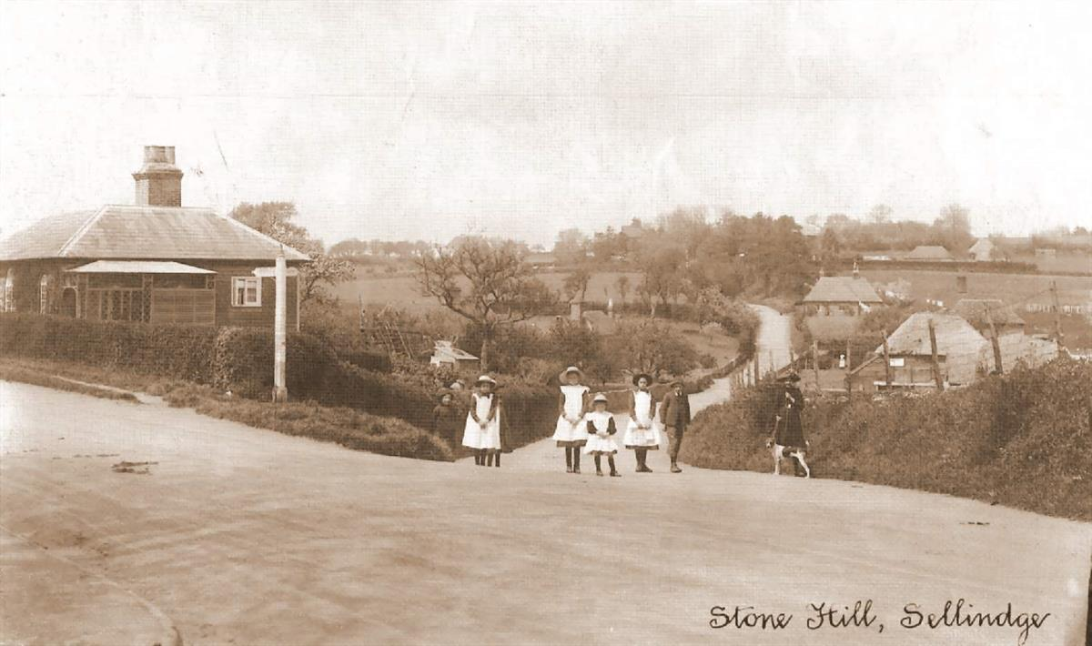 stone hill in the early 1920's