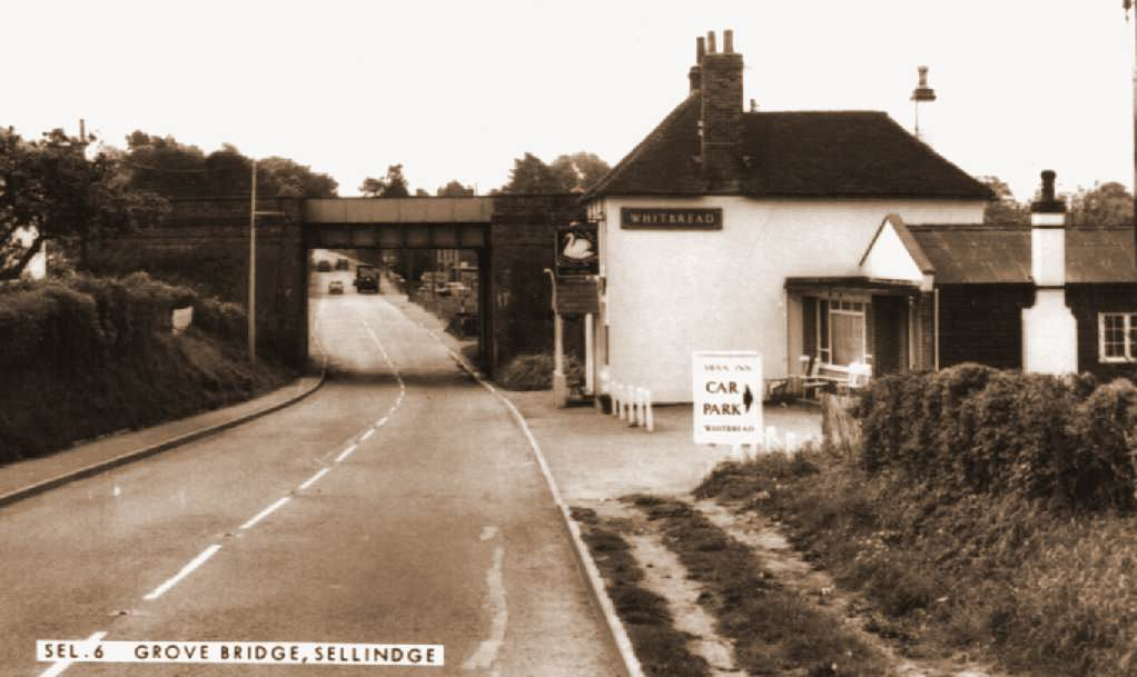 swan pub in the mid 1960's